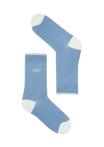 Basic Socks #SHARK uni - Fischerins Kleid