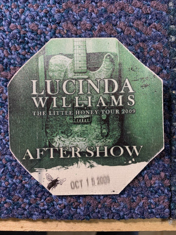 Lucinda Williams Backstage Pass