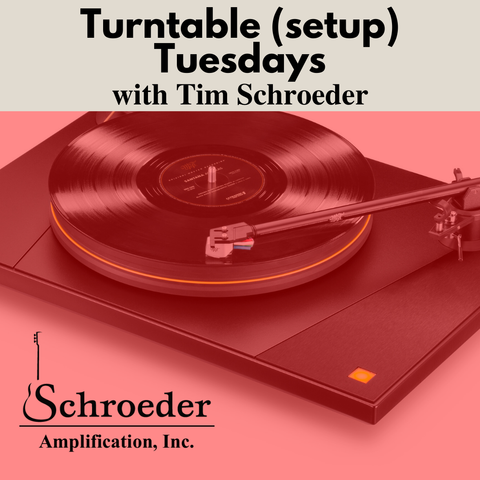 My upcoming video series about how to setup your turntable is coming soon!