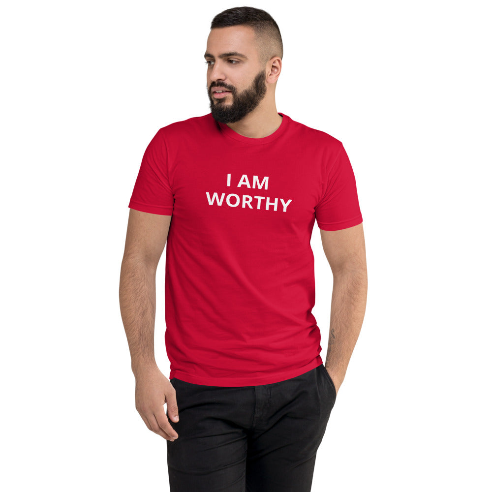 Short Sleeve I AM WORTHY T-shirt
