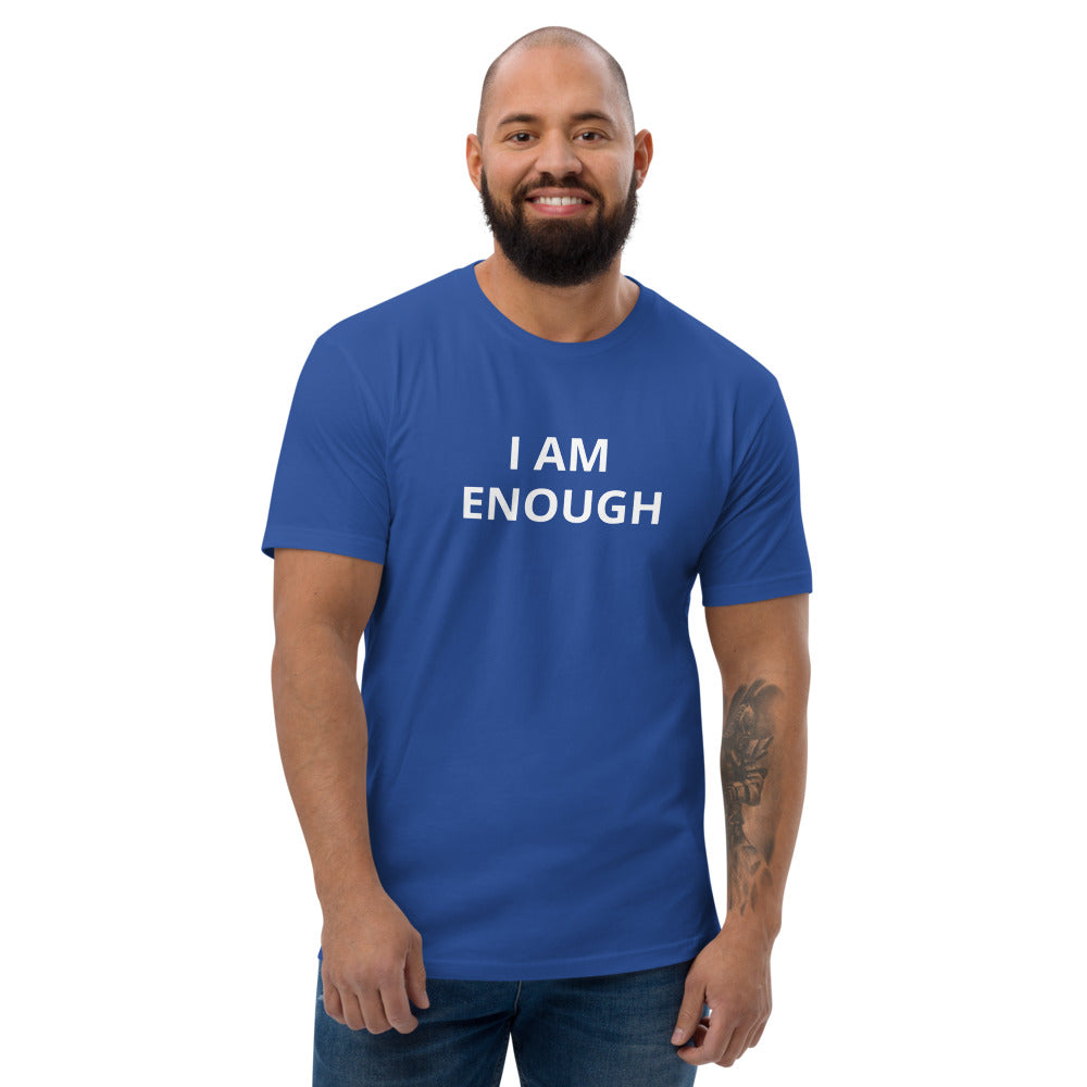 Short Sleeve I AM ENOUGH T-shirt