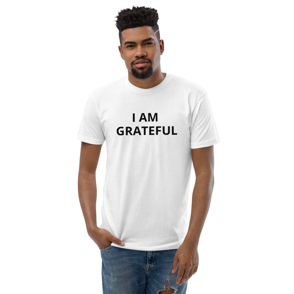 Short Sleeve I AM GRATEFUL T-shirt