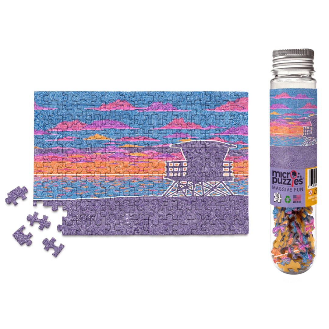 Coastal California 150 Piece Micro Puzzle - The Puzzle Nerds