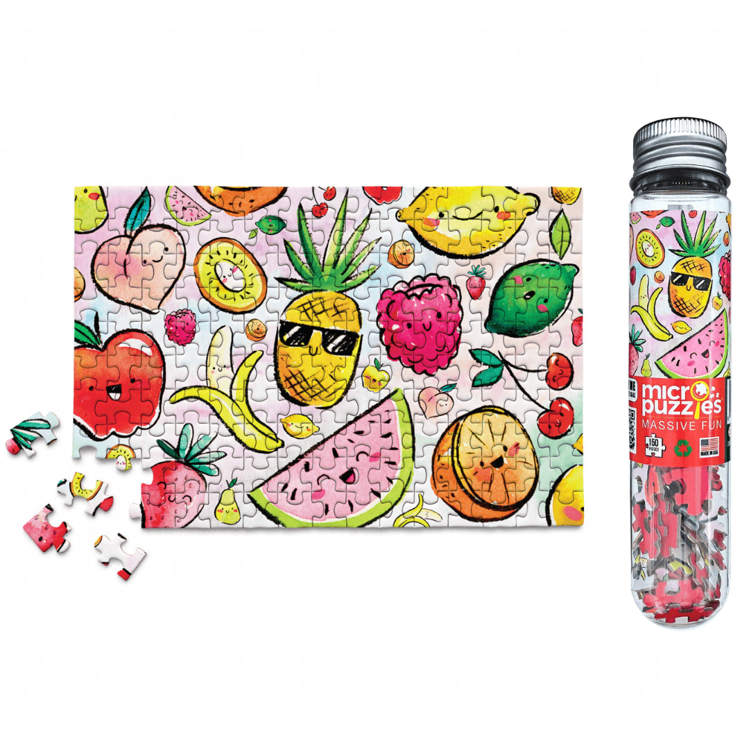Funny Fruit 150 Piece Micro Puzzle - The Puzzle Nerds