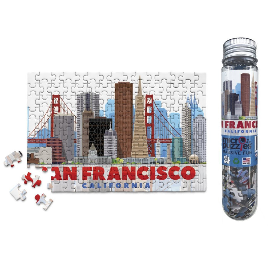 San Francisco 150 Piece Micro Puzzle - The Puzzle Nerds