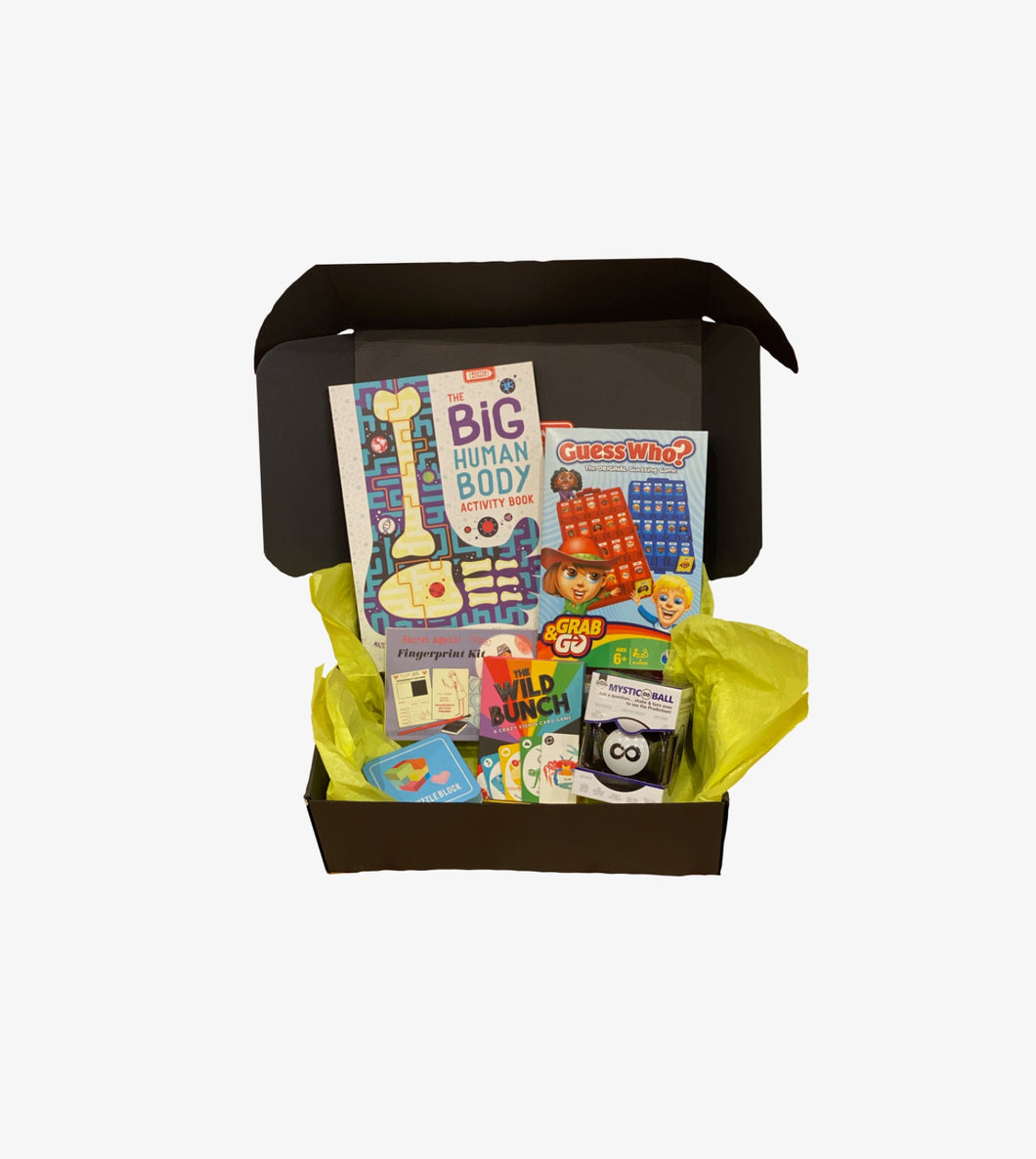 STAY AT HOME BOX - UNISEX ages 6-12: LARGE
