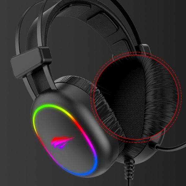 Havit GAMENOTE H2016d RGB Gaming Headset.