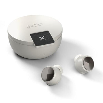 ROCKit. True Wireless Earbuds fra SACKit. Super lyd. Pearl.