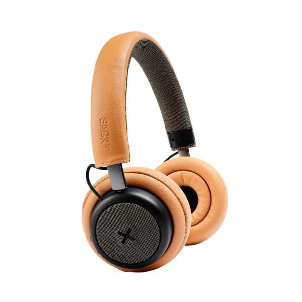 SACKit TOUCHit headphones. Bluetooth og ANC. Golden.