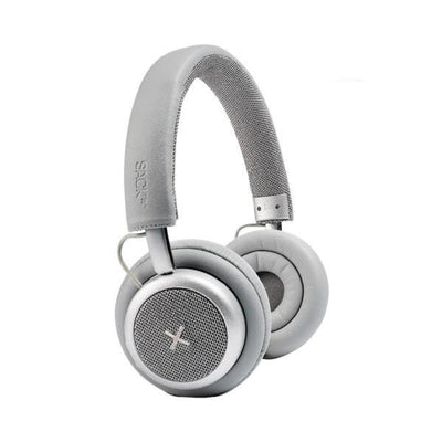 SACKit TOUCHit headphones. Bluetooth og ANC. Silver.