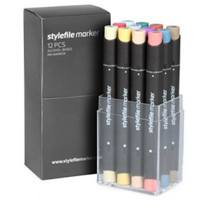 Stylefile 12 Pen Set C