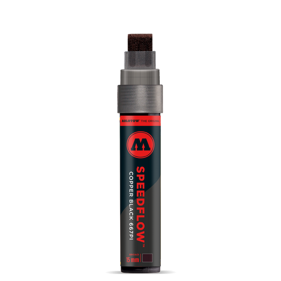 Molotow Speedflow Copper Black 667PI