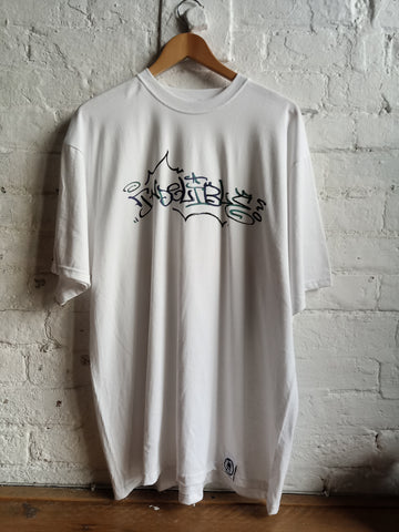 Indelible Hand Mixed Tee (White)