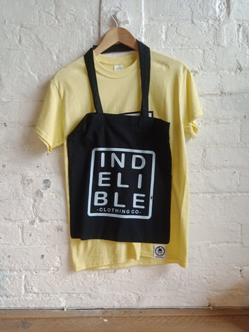 Indelible Tee & Tote Pack (Yellow)