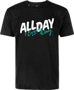 Hektik All Day Every Day T-Shirt Black