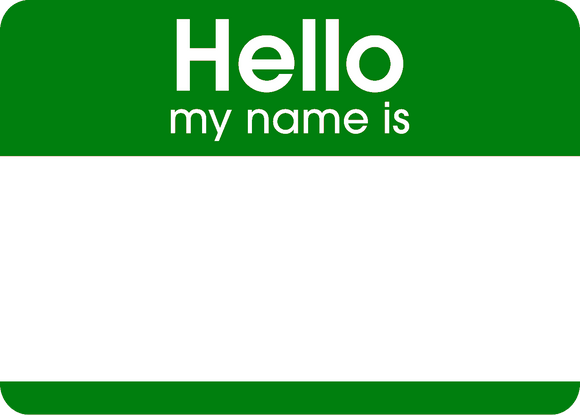 Hello Stickers Green