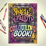INKIE GRAFFITI COLOURING BOOK: Volume 1