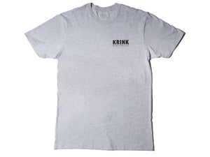 Krink Clothing Logo T-Shirt Grey