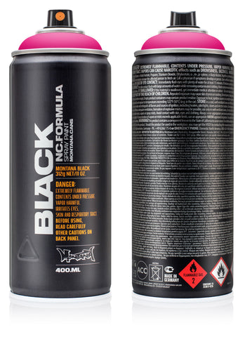 MONTANA BLACK 400ML - INFRA COLOURS