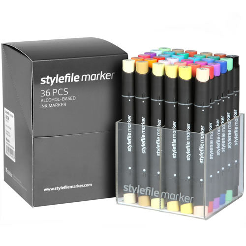 Stylefile 36 Pen Set - Main Set A