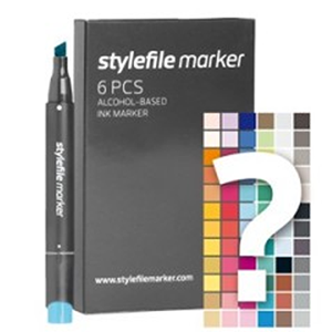 Stylefile 6 Pen Trial Set