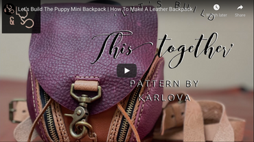 Build The Puppy Together with Leather N Stitch Customs!