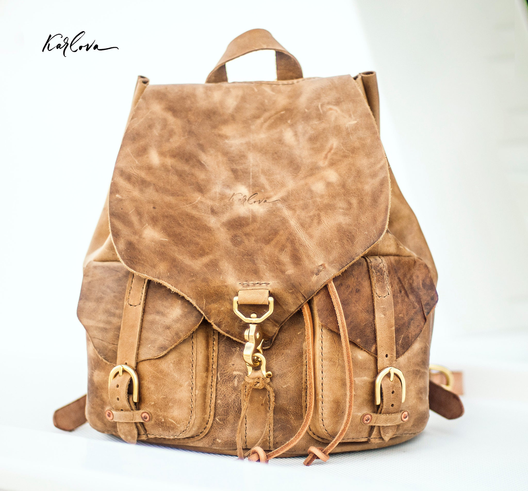Signature Backpack PDF Pattern