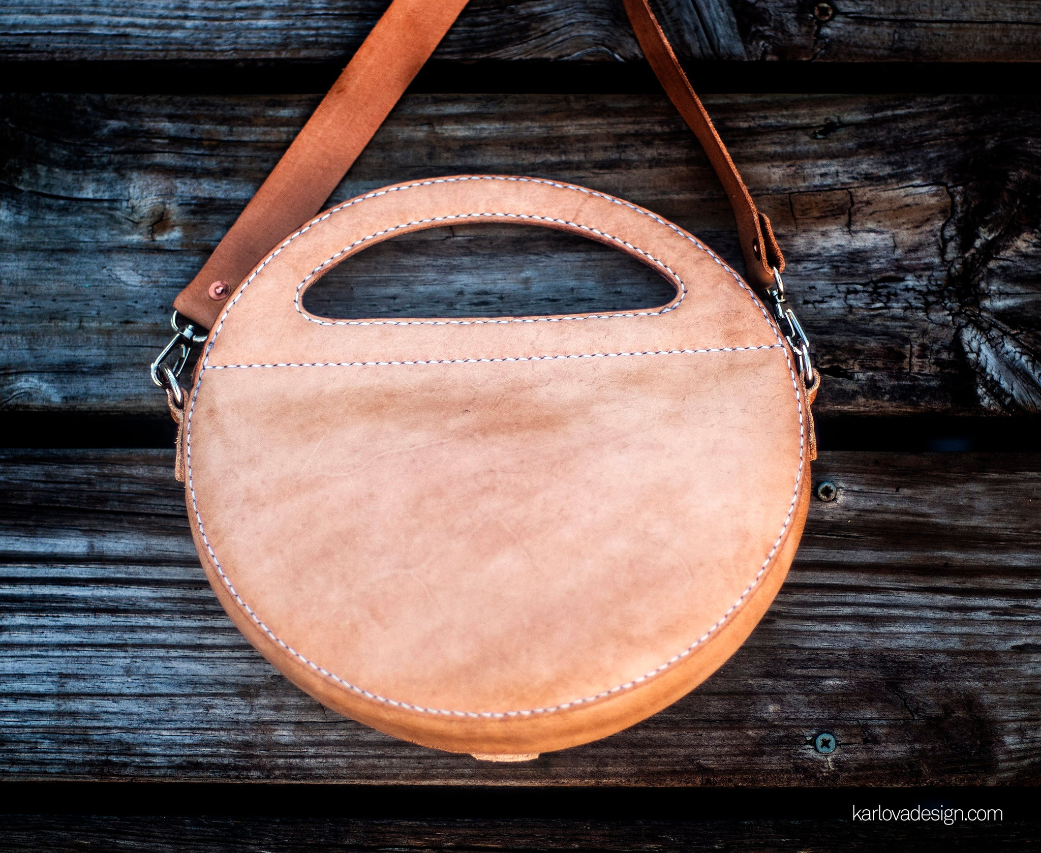 Rondo Leather Purse PDF Pattern