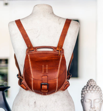 Limulus Leather Backpack PDF Pattern