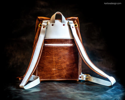 Marina's Leather Backpack PDF Pattern