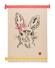 Load image into Gallery viewer, Teppich Clapin aus Baumwolle - Hase Beige
