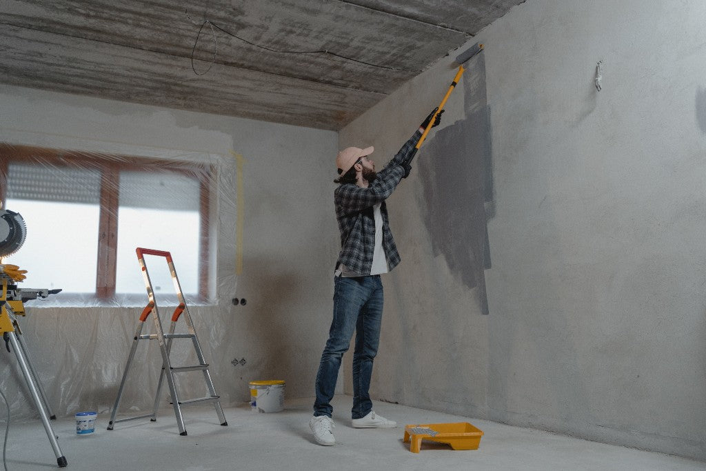 How To Paint A Room With A Spray Gun