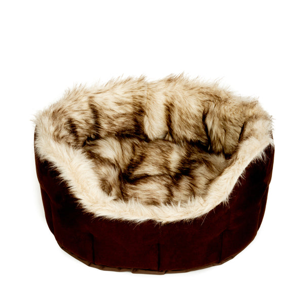 Suede Fur Bed