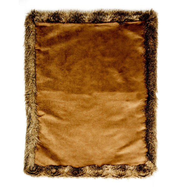 Pet Pavilion Fur & Suede Blanket