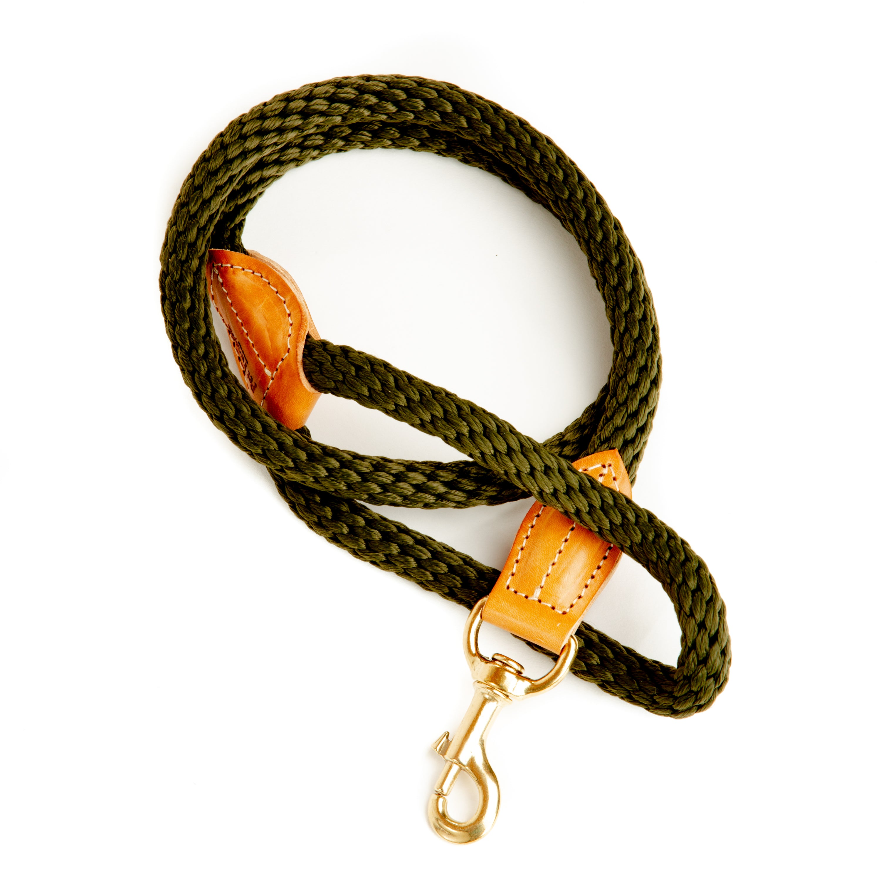 Braided Leather Lead