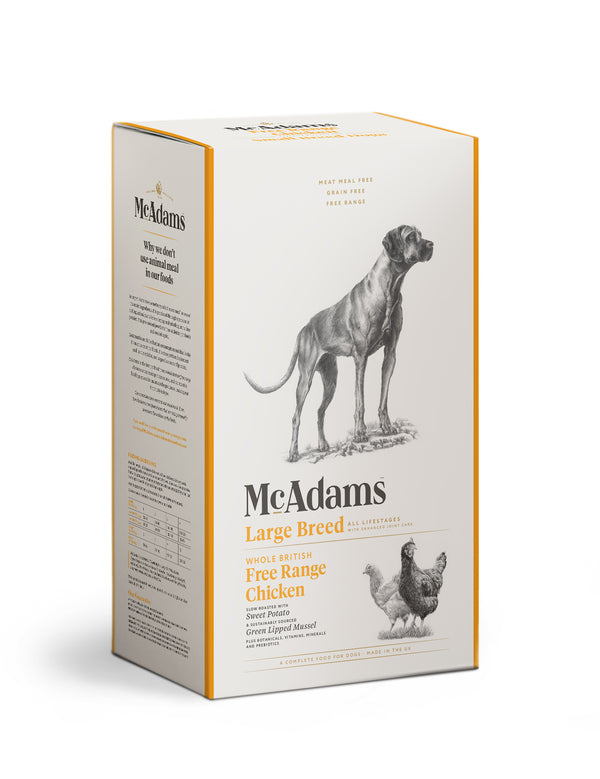 McAdams Free Range Chicken Large Breed 2kg