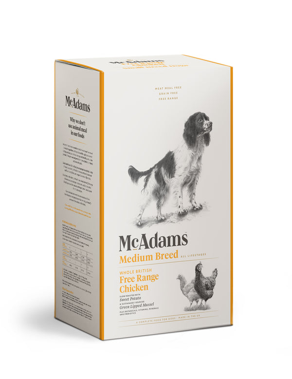 McAdams Free Range Chicken Medium Breed 5kg
