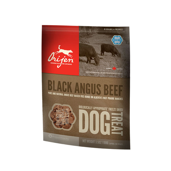 Orijen:  Dog Treats Black Angus Beef 42.5g