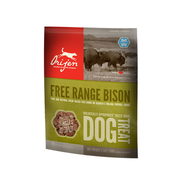 Orijen: Dog Treats Free Range Bison 42.5g