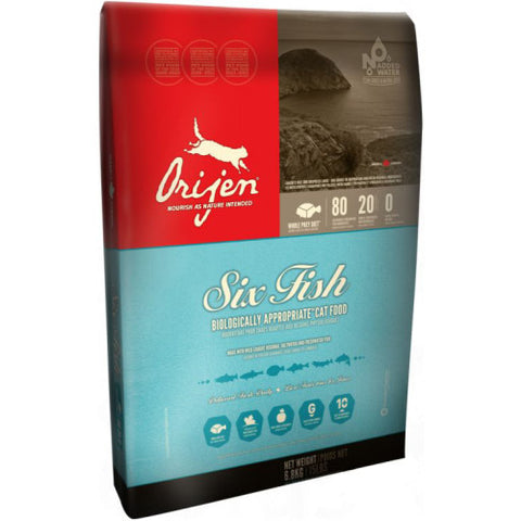 Orijen 6 Fish Cat & Kitten Food