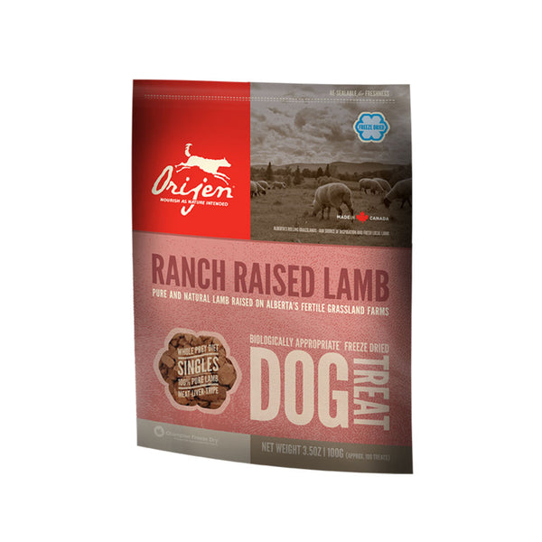 Orijen: Dog Treats Ranch Raised Lamb 42.5g