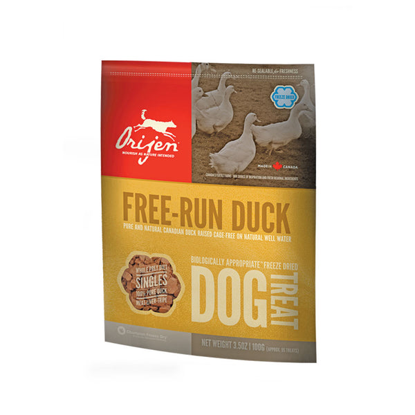 Orijen: Dog Treats Free Run Duck 42.5g