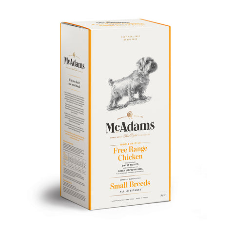 McAdams Free Range Chicken Small Breed 5kg