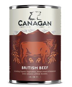Canagan Dog British Beef