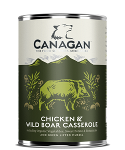 Canagan Chicken & Wild Boar Casserole (Wet)