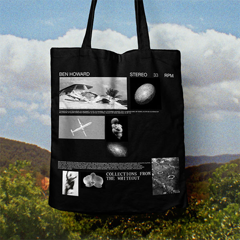 Collections From The Whiteout: Tote Bag (Black)