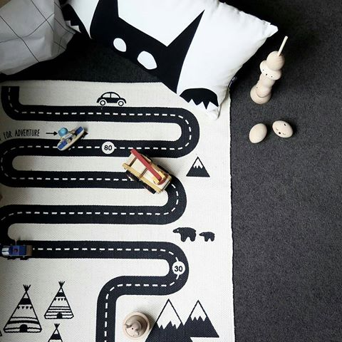 Kids' rugs and play mats at Milk Tooth. OYOY Adventure Rug