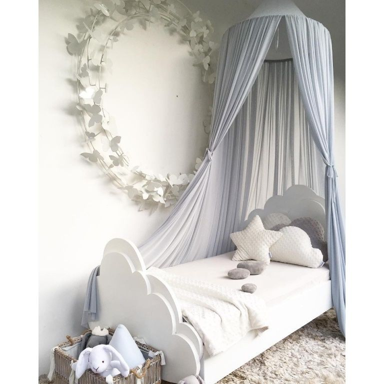 Spinkie Baby | Sheer Canopy | Mist Blue Grey