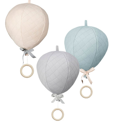 Three colours in the Cam Cam Hot Air Balloon Musical Mobiles