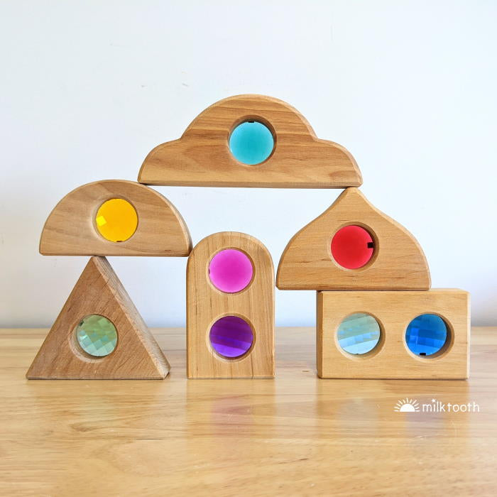 Bauspiel Window Shapes set of 6 Fairy Windows